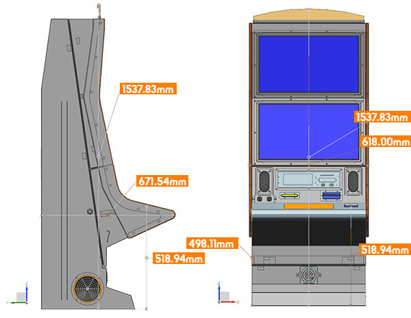 Cabinet Dimensions