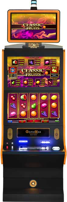game screens classicfruits cabinet