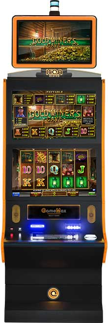game screens goldminerscave cabinet