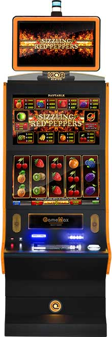 game screens sizzlingredpepper cabinet